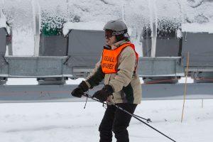Blind Skier Slopes