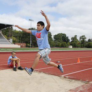 Eric long jumping
