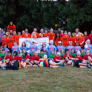 Colorful group photo of Camp Abilities Oregon 2016.