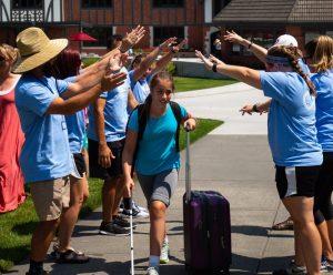 arriving at Camp Spark